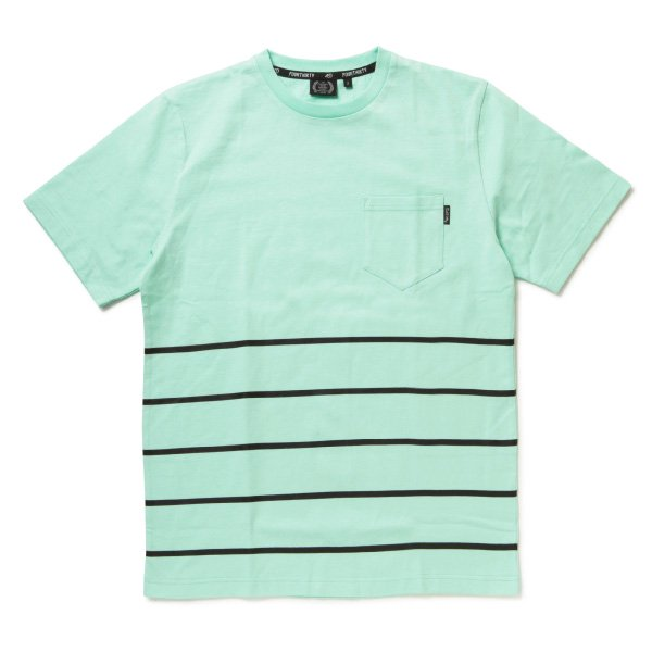FIVE STRIPES S/S POCKET TEE