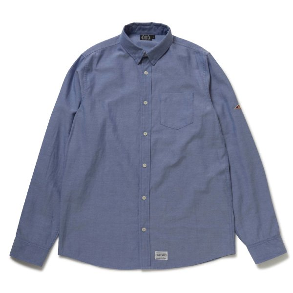 L/S CONCEAL BD OX SHIRTS [ロングスリーブ コンシール ビーディー オックス シャツ]