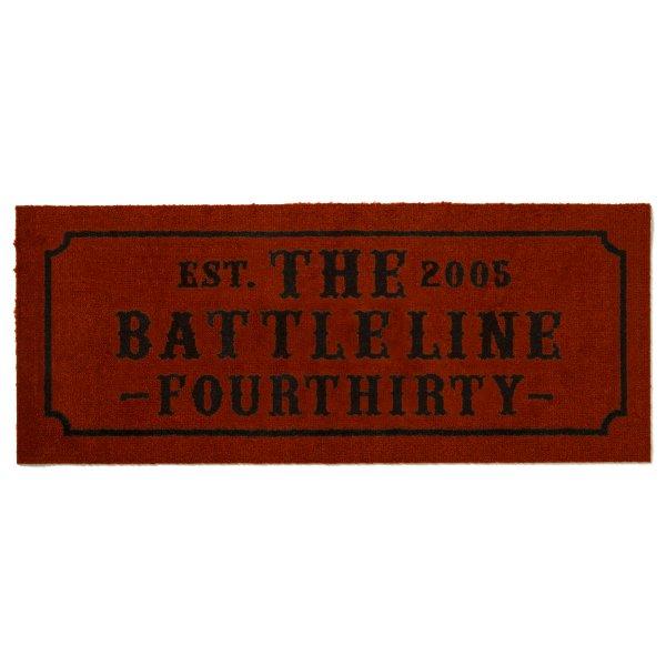 """THE BATTLELINE"" NARROW MAT[""バトルライン"" ナロー マット]"