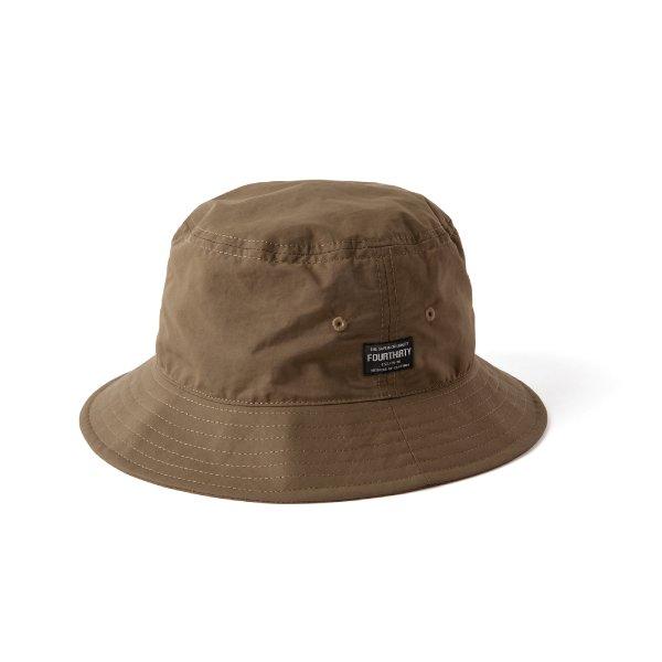 MIL TAG BUCKET HAT [ミル タグ バケット ハット]