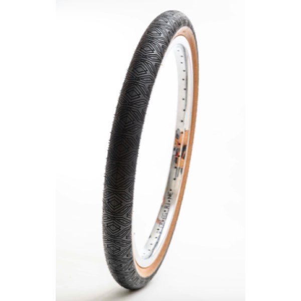 HERESY ZEPHYR TIRE / Wire bead (BLACK/TAN)