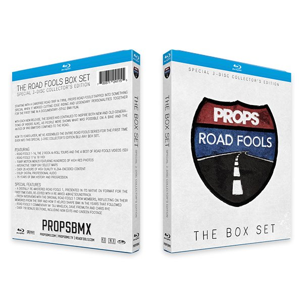 PROPS THE ROAD FOOLS DVD BOX SET