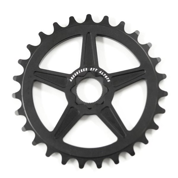 ARES SOLID SPROCKET(BLACK/25T)