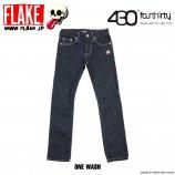 430��FLAKE DENIM 5P PANTS
