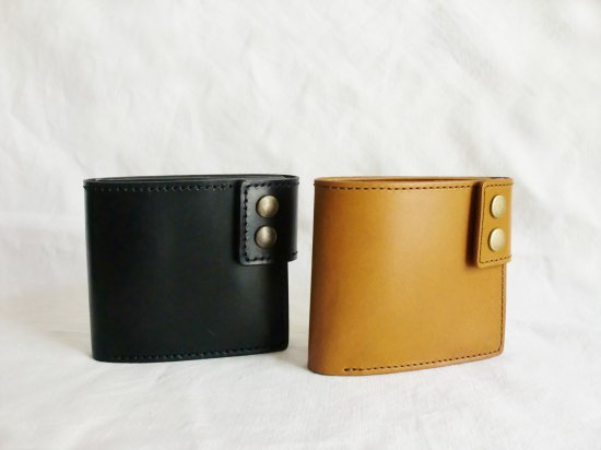BOX式コインケースの二つ折り財布