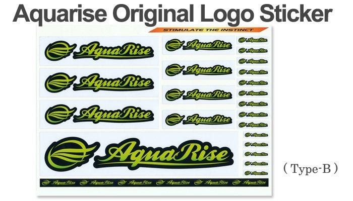 【Type-B】 : Logo Sticker(AquaRise Original)