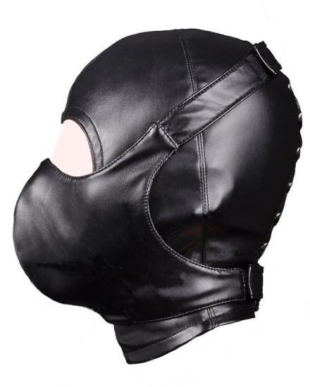 合皮製■ダイバーフードデザインマスク