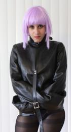 本革製/ストレイトジャケット(拘束衣)■二色展開