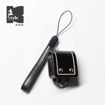 ミニチュアランドセル(ベルトレザー付) 黒【数量限定】