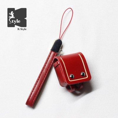ミニチュアランドセル(ベルトレザー付) 赤【数量限定】