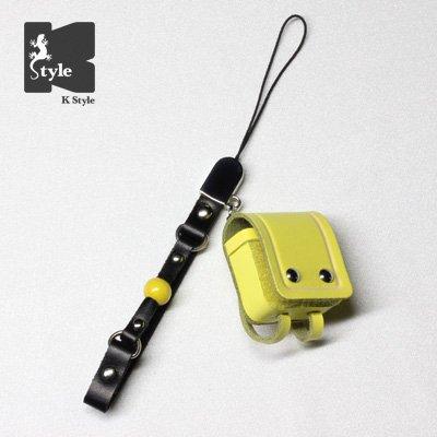 ミニチュアランドセル(ギャグ付) 黄