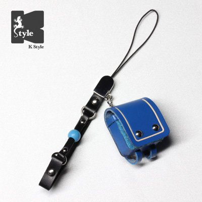 ミニチュアランドセル(ギャグ付) 青