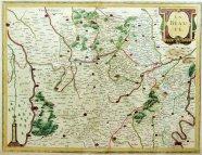 ヘンリカス・ホンディウスII【オランダ】 LA BEAUCE(仏)地図 1633年