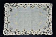 プリンセスレース【ベルギー】花のテーブルマット 5枚セット 44�