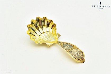 Jean-Baptiste Dreyer【フランス】純銀製ティーキャディースプーン 19世紀
