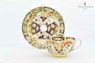 ダービー窯【イギリス】 伊万里写カップ&ソーサー 1800年初頭