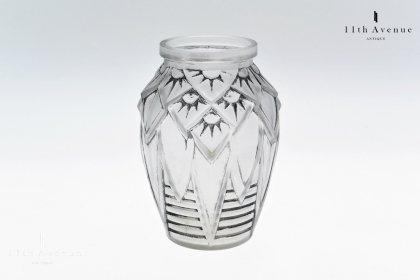 ミューラー兄弟【Muller Freres】アール・デコ 花文花瓶