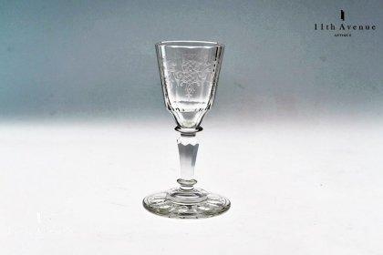 ロブマイヤー【Lobmeyr】 「Rokoko-Ornament」(ロココ装飾)リキュールグラス