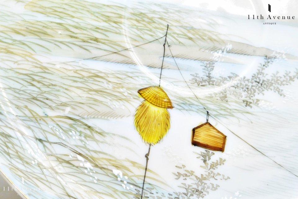 野瀬【横浜】里帰り 鴨に富士風景文トリオ