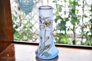 ルグラ【フランス】 エナメル彩アネモネ文花瓶