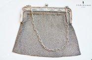 フランス【アンティーク】純銀製ハンドバッグ