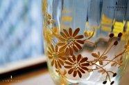 フランス【アンティーク】ジャポニスム 金彩装飾グラス