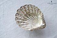 Atkin Brothers【イギリス】シェルデザイン純銀製ボンボンディッシュ 1901年