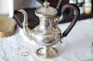 オーストリア帝国【アンティーク】純銀製コーヒーポット 1838年