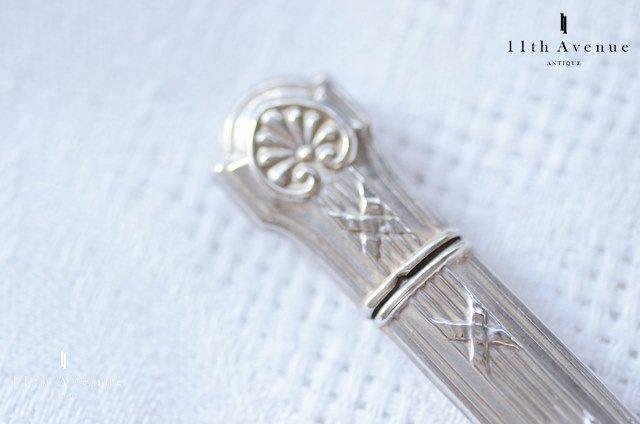 フランス【アンティーク】ルイ16世様式 純銀製ニードルケース
