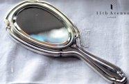Henin【フランス】純銀製ハンドミラー