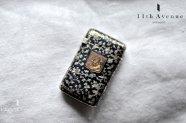 フランス【アンティーク】ニエロ象嵌シルバー製マッチケース
