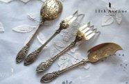Alexandre Tortez【フランス】ルイ15世様式 純銀製オードブル用セット