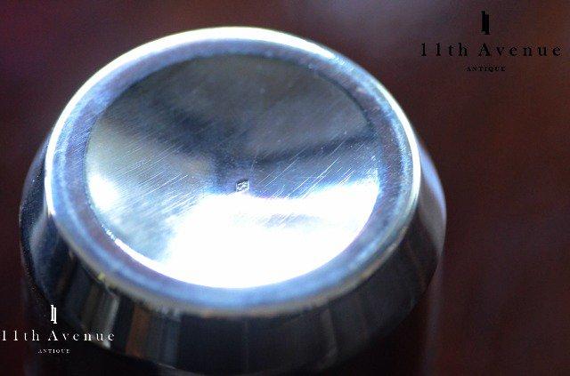 フランス【アンティーク】アール・デコ 純銀製タンブラー