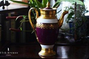 シュルシェール【フランス】帝政様式コーヒーポット 1800年初頭