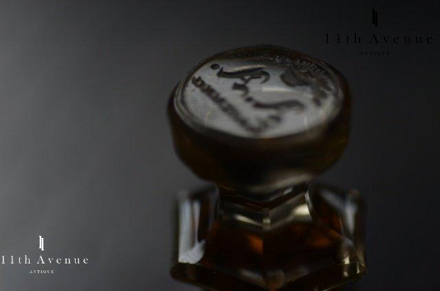 イギリス【アンティーク】シトリンのデスクシール 19世紀