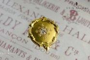 フランス【アンティーク】ダイヤモンドのブローチ 18金