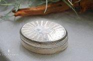 フランス【アンティーク】ギロッシュ装飾 純銀製タバティエール