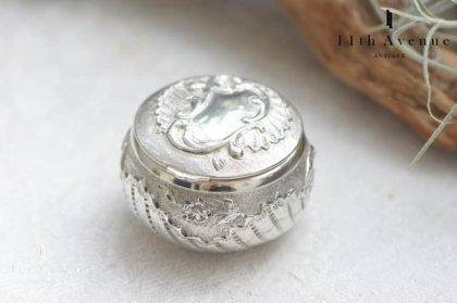 フランス【アンティーク】ルイ15世様式シルバー製ピルケース