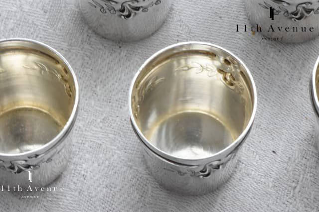 Leferbvre fils【フランス】純銀製リキュールカップ 6個セット