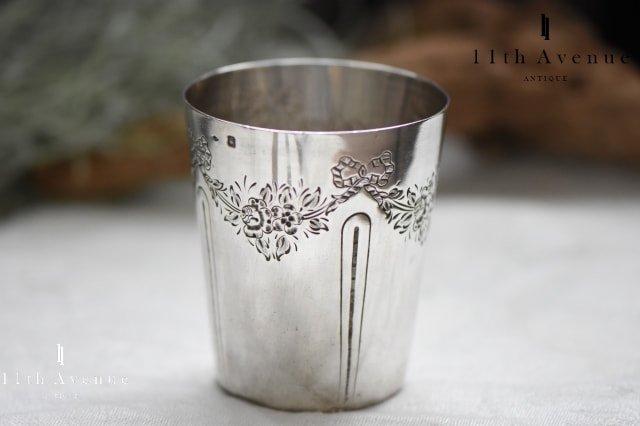 フランス【ヴィンテージ】ルイ16世様式 純銀製タンブラー