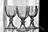 バカラ【フランス】F.6815 T.6295 ポートワイングラス 1900年初頭