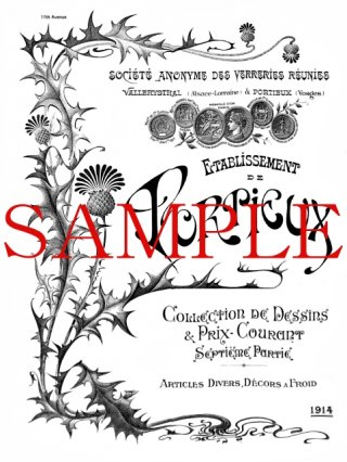 ポルティユー【Portieux】1914年コールドペイント装飾公式製品カタログ(デジタル資料)