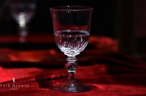バカラ【フランス】Olives torses et filets ワイングラス 1890年代