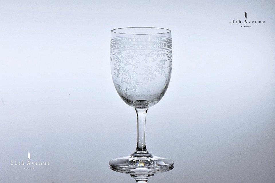 バカラ【フランス】「Chevrefeuilles(シェーヴルフイユ)」 グラス