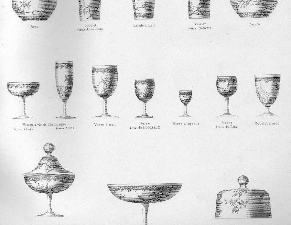 バカラ【フランス】「MIMOSA」(ミモザ) グラス