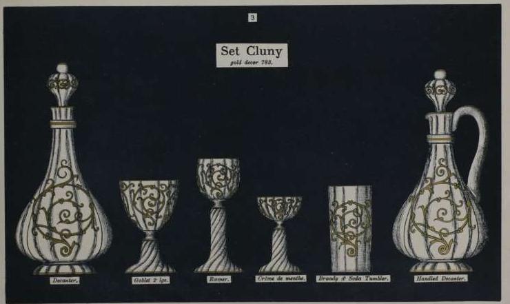 サン・ルイ【フランス】「Cluny」(クリュニー)レーマーグラス