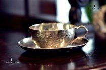 Paul Girard【フランス】純銀製カップ&ソーサー 19世紀末