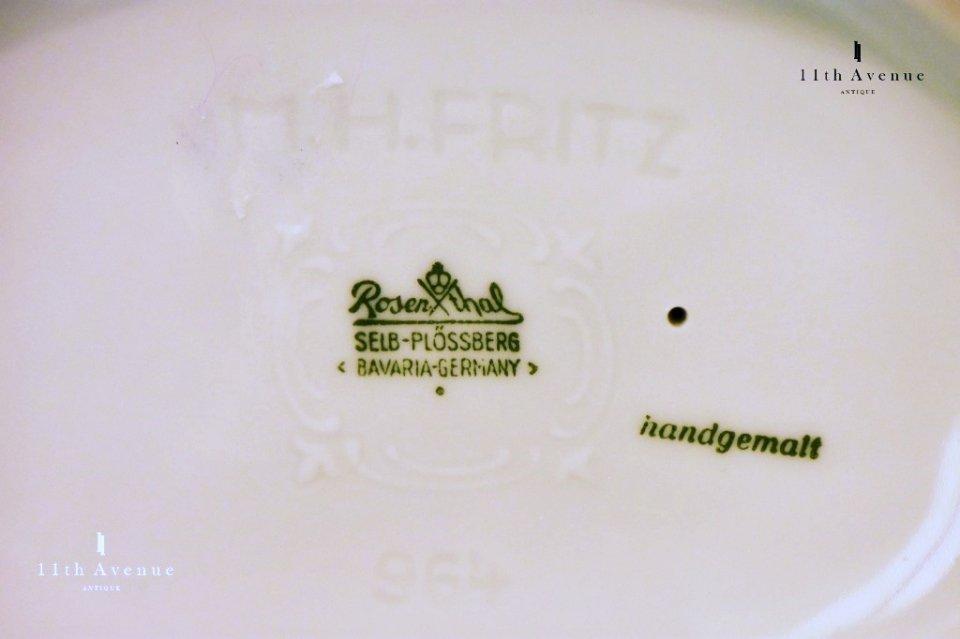 ローゼンタール【ドイツ】デザイン:M.H.フリッツ 鷺