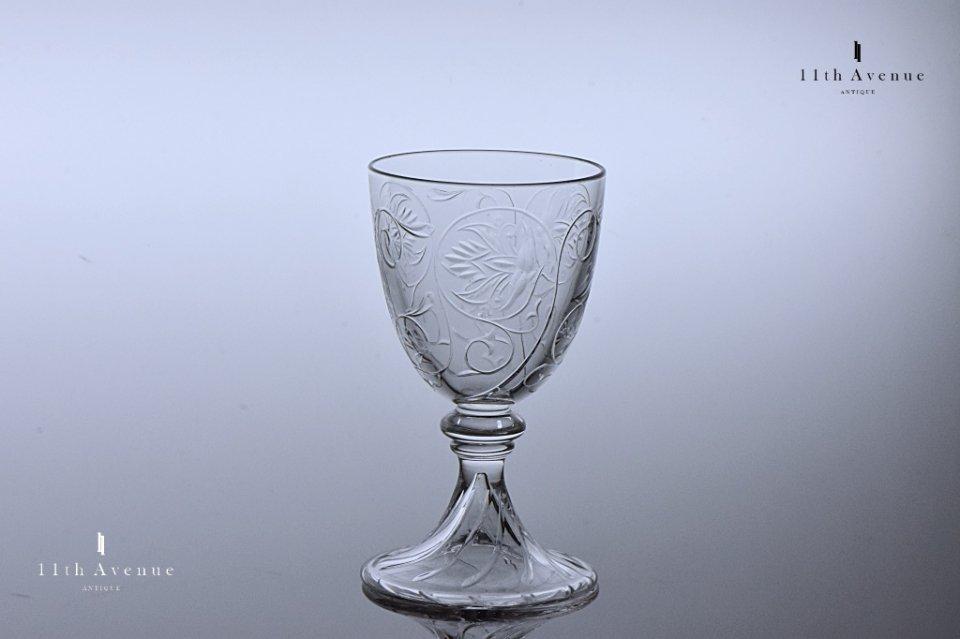バカラ【フランス】F.3258 T.3296 ポートワイングラス