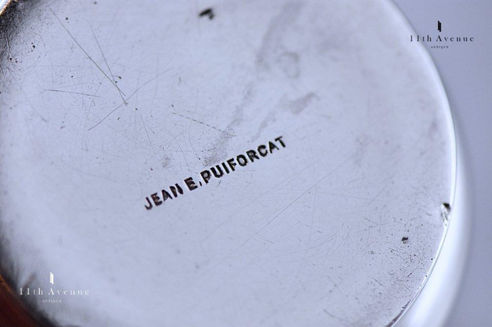 ジャン・E・ピュイフォルカ【フランス】アール・デコ 純銀製タンブラー